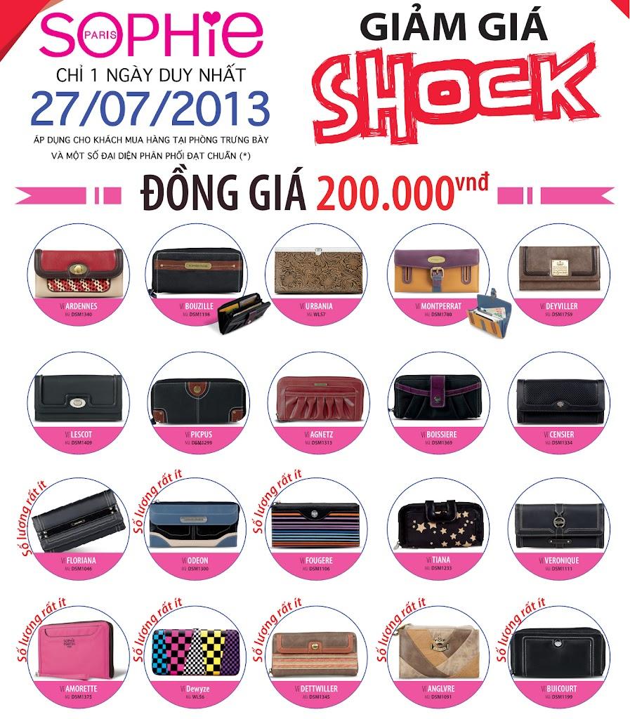 Khuyến mại đồng giá 200,000 ngày 27/07/2013