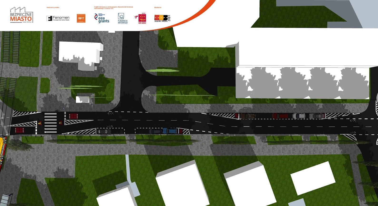 Poza sierżantami pojawią się nowe miejsca parkingowe dla samochodów