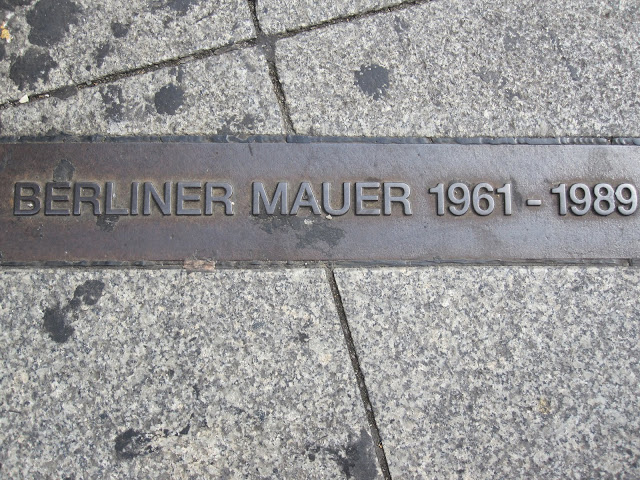 Berlin Wall line - from Through the Eyes of an Educator: Berlin