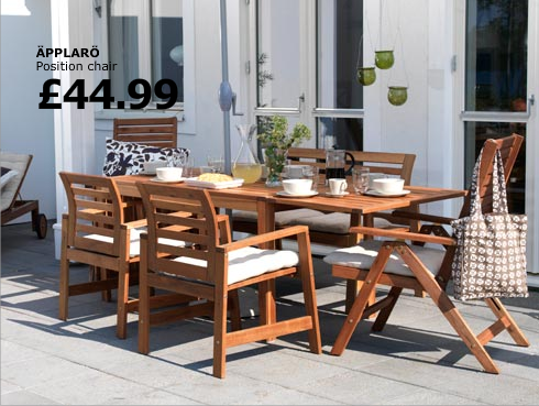 Here comes the sun fillies and juleps for Ikea outdoor furniture review