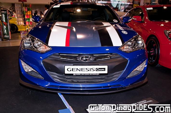 Hyundai Genesis Coupe Body Kit Designs by Atoy Customs 2012 Manila Auto Salon Custom Pinoy Rides pic14