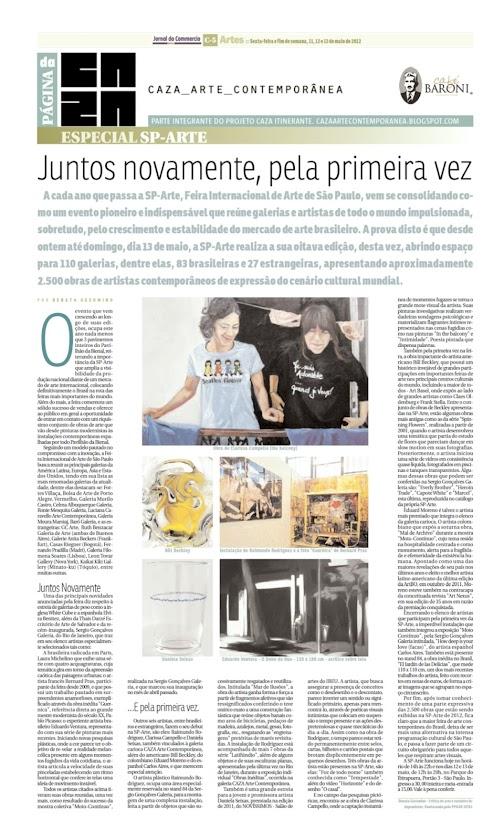 Página da Caza - 11 de Maio de 2012