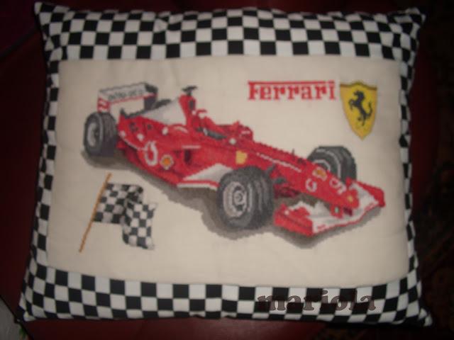 Poduszka z Ferrari