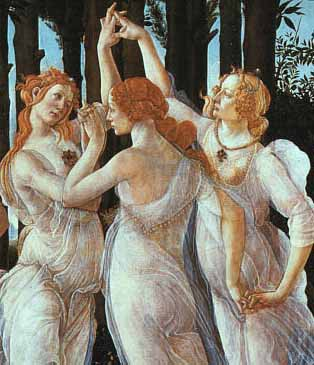 Greek Goddess Euphrosyne Image