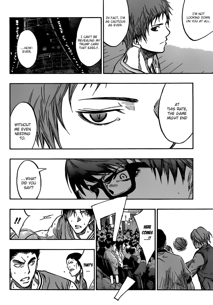 Kuroko no Basket Manga Chapter 176 - Image 12