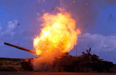 Imágenes de la guerra en Libia
