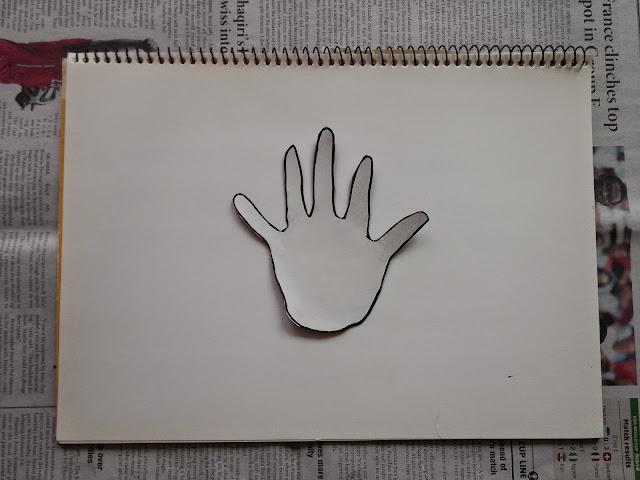 손바닥 판화