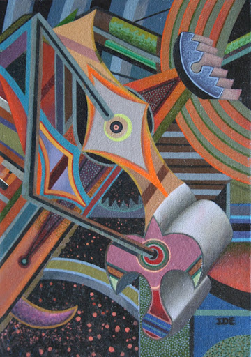 """French Nightlife"" by William R. Ide. Oil. $200.00"