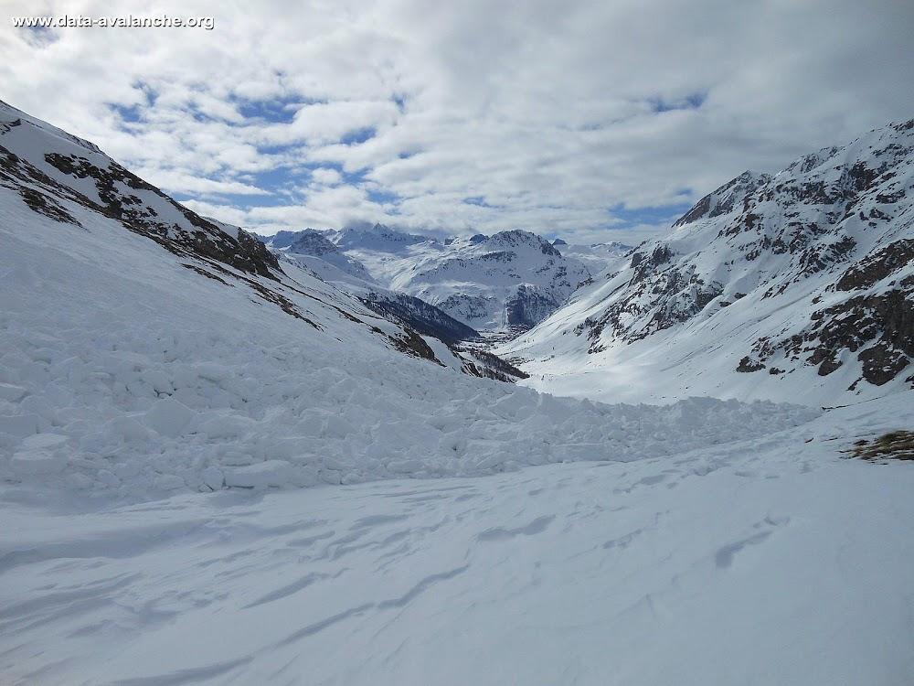 Avalanche Haute Tarentaise, secteur Col de l'Iseran, Col Pers - Plates du vallonnet - Grand-Torsai, - Photo 1 - © Moreau Michel