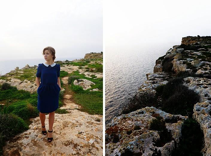 falaises de Sannat, paysage Malte Gozo