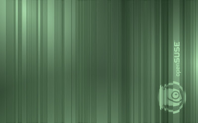 OpenSUSE stripes wallpaper