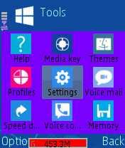 Tema windows 8 untuk symbian s60v2