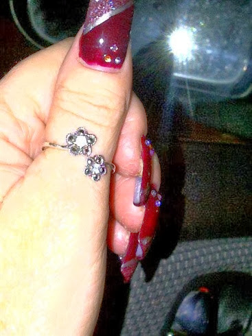 thumb ring to compliment my new nails
