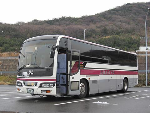 阪急バス「よさこい号」昼行便 05-2888 室津PAにて その1