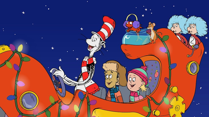 """The Cat in the Hat Knows a Lot About Christmas"" on PBS KIDS Starting November 27th."