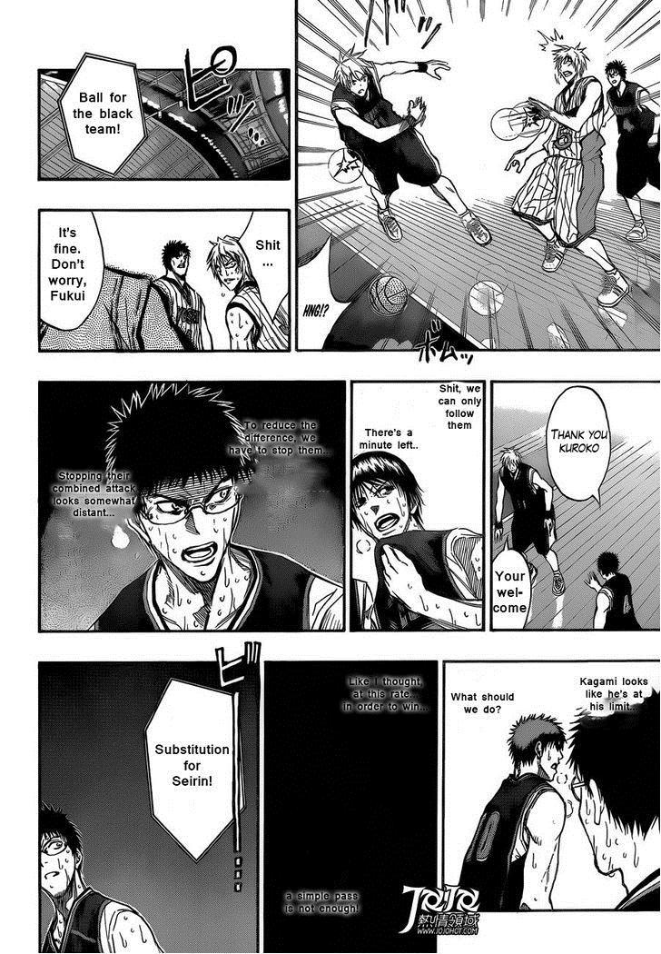 Kuroko no Basket Manga Chapter 166 - Image 18