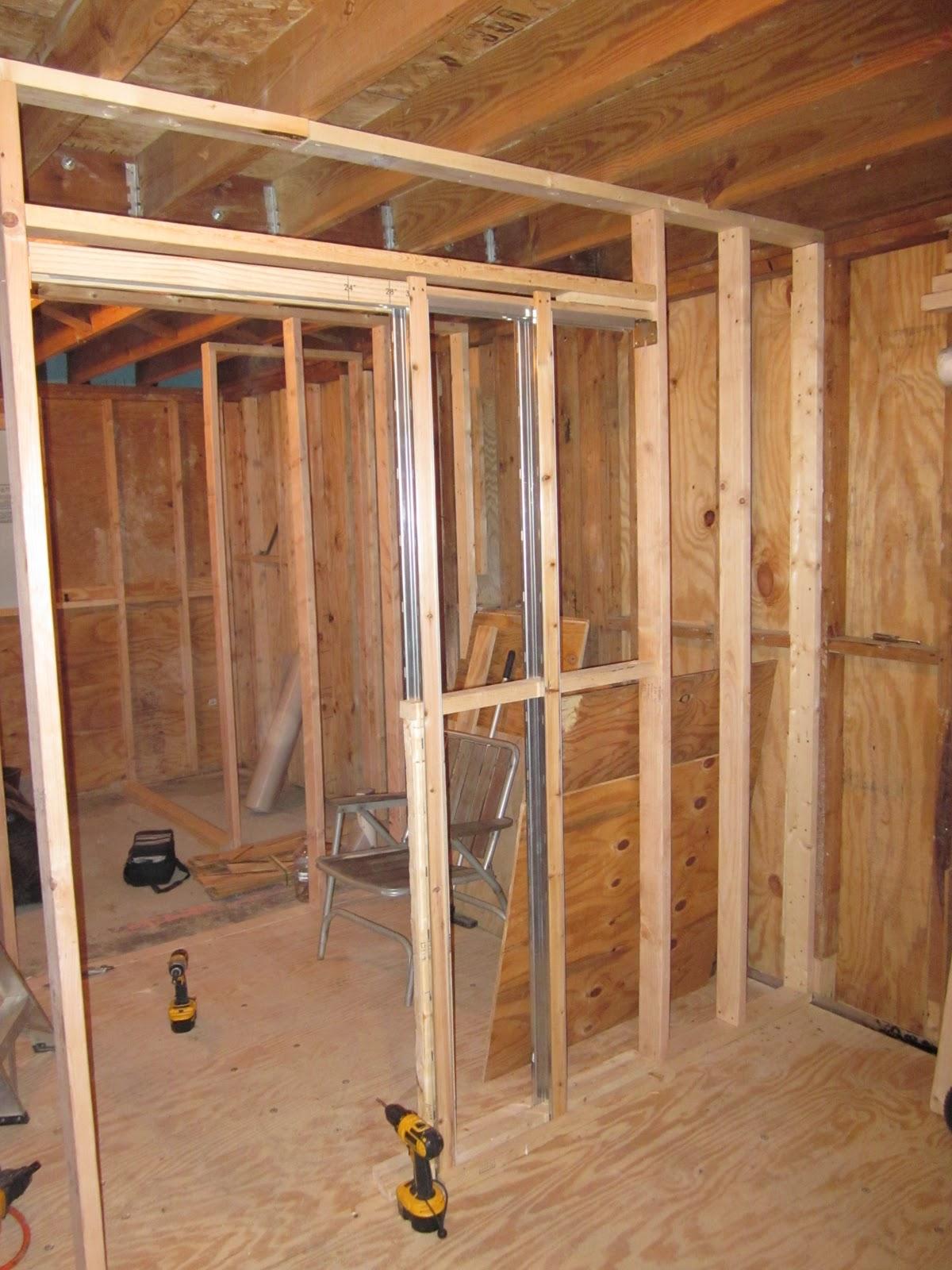 Pocket door details for 2x4 wall for Door jamb size for 2x6 walls