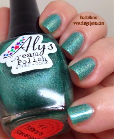 aly's dream polish, polish, indie polish