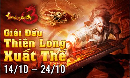 TLBB khởi động giải đấu Thiên Long Xuất Thế 1