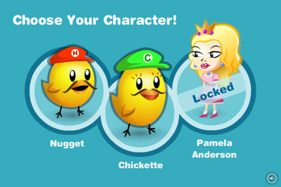 PETA super chick sisters pamela anderson game Pamela Anderson in PETSs Super Chick Sister Game