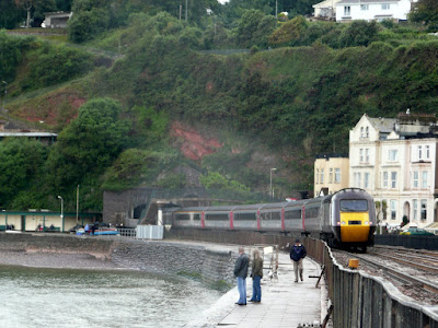 Dawlish Sea Wall Railway