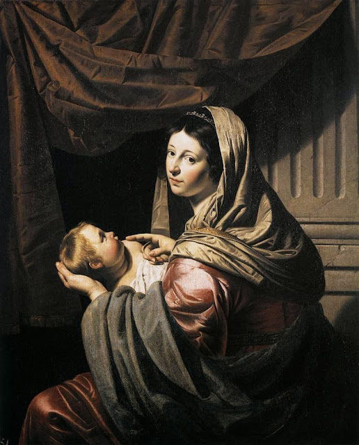 Jan van Bijlert - Virgin and Child