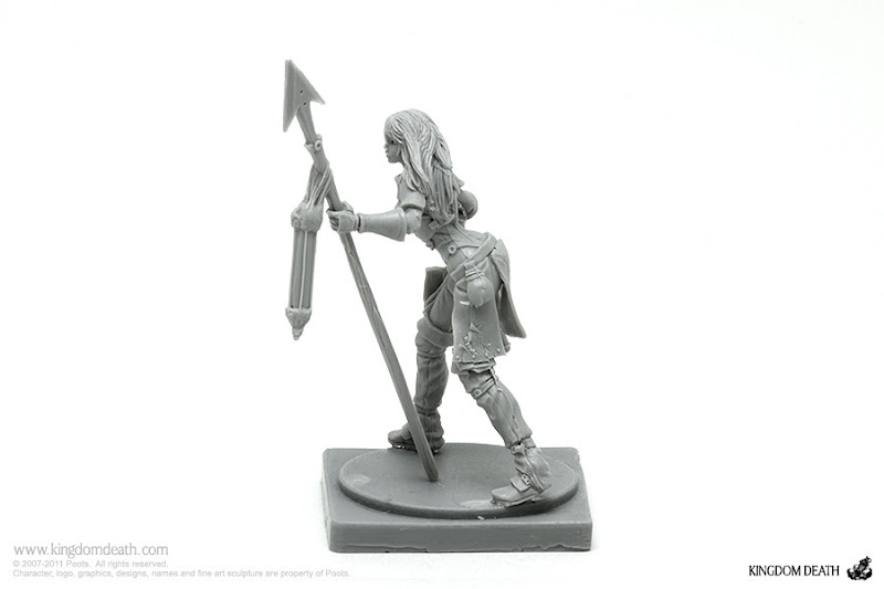 kingdom death character survivor female