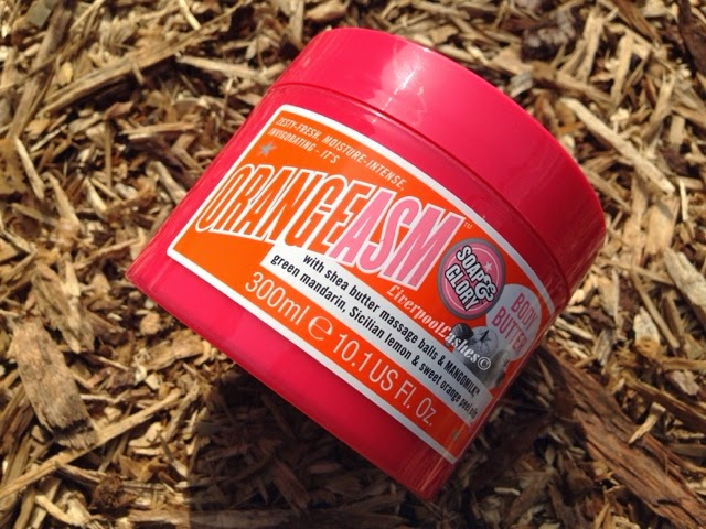 soap and glory orangeasm super body butter