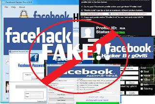không thể lấy mật khẩu facebook bằng phần mềm