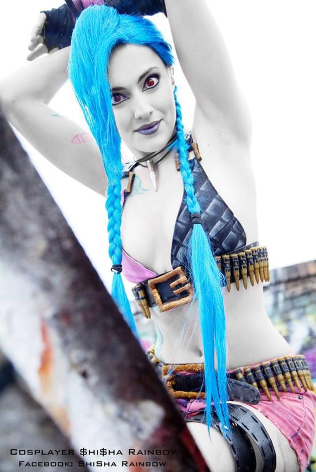 Cosplay Jinx cực chất của Shisha Rainbow - Ảnh 5
