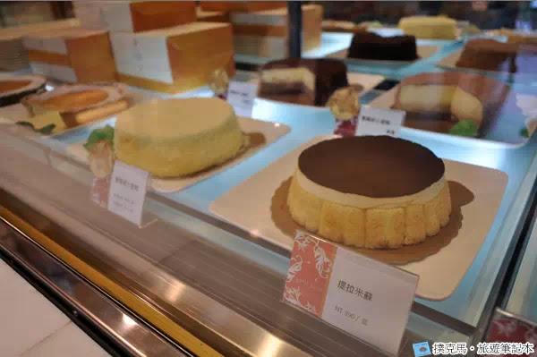 富林園洋菓子提拉米蘇蛋糕