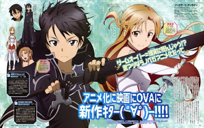 Sword Art Online Full Episode 1, 2, 3, 4, 5, 6, 7, 8, 9 Subtitle Indonesia
