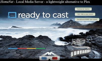 Homenet LMS - Local Media Server - lightweight alternative to Plex