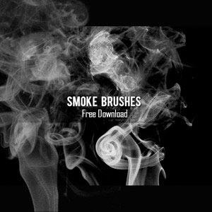 Smoke brush gratis untuk photoshop
