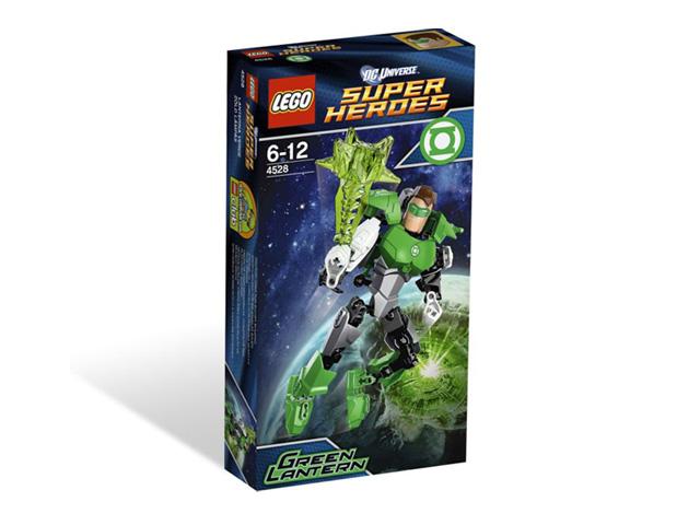レゴ スーパーヒーローズ グリーンランタン 4528