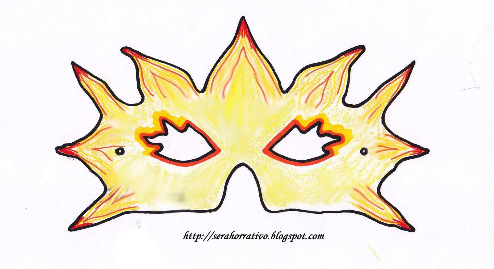 Girasoles Rojos: Arte y diseño: Máscara de Carnaval