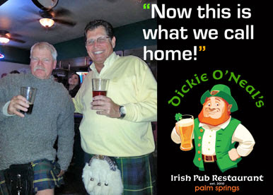 Dickie O'Neal's Irish Pub Palm Springs