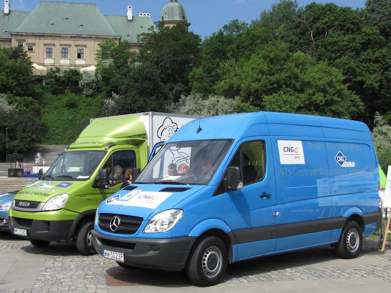 IX Supertest Ekonomii 2012 - Czas ne demonstrację możliwości ciężkich pojazdów CNG!