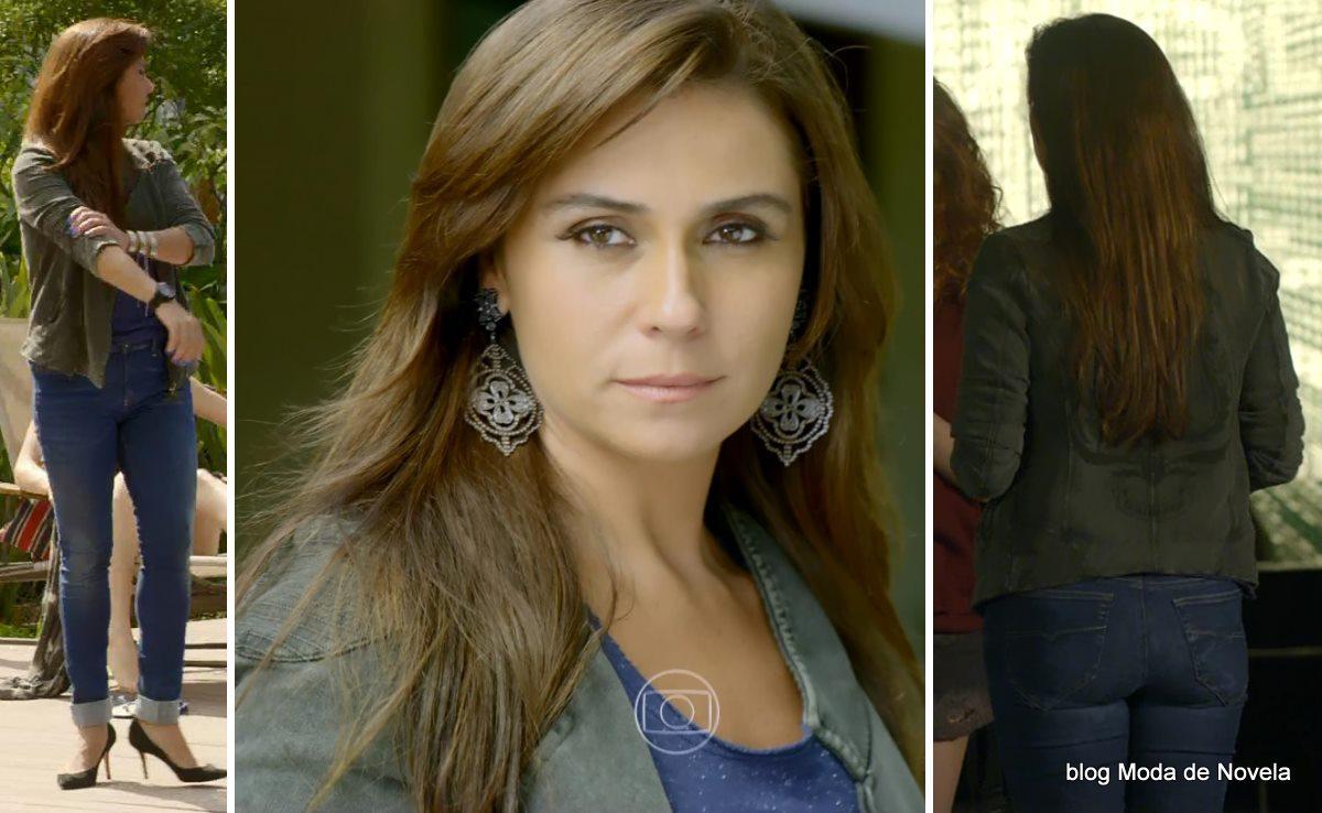 moda da novela Em Família - look da Clara dia 24 de abril