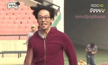 หน้าผาก Yoo Jae Suk เป็นที่พูดถึงกันสนุกสนานในอินเตอร์เน็ต