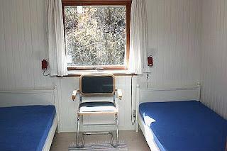 Soveværelse i vores sommerhus i Øster Hurup