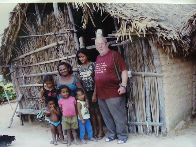 visita ad un villaggio della parrocchia