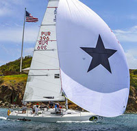 J/105 sailing Rolex Cup regatta in St Thomas USVI