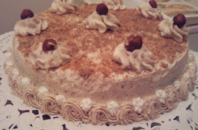 Gâteau aux noisettes de Mouna Chabou