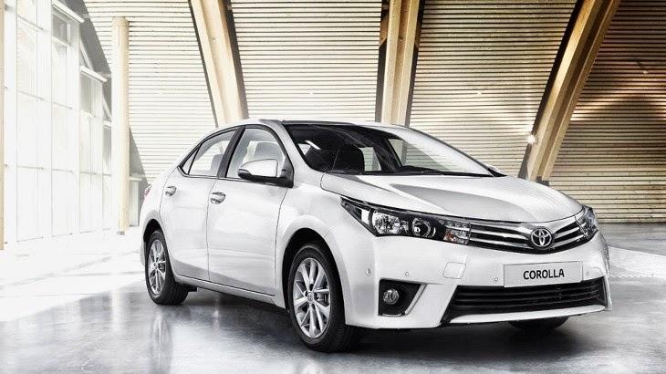 2014 Toyota Corolla (sedan)