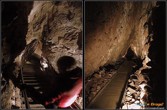 jaskinia niedźwiedzia - korytarze