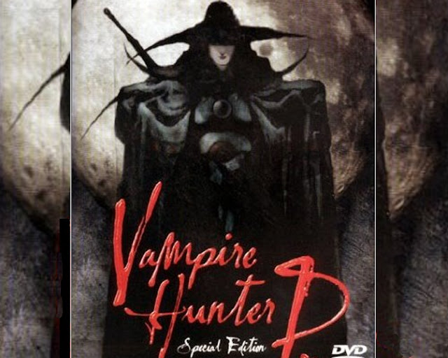 Vampire Hunter D movie poster