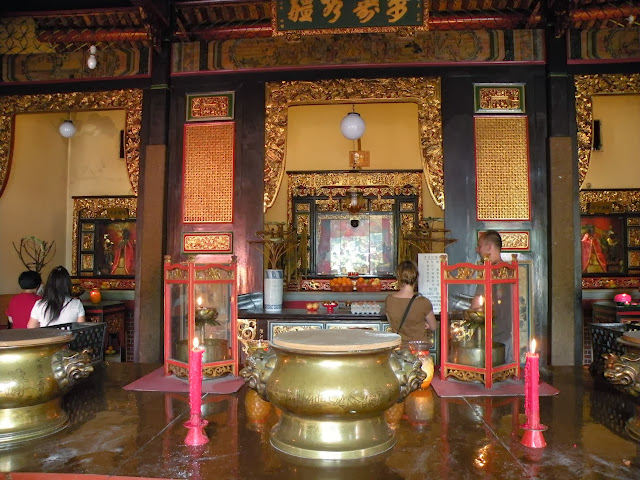 Snake Temple Georgetown Penang Malaysia