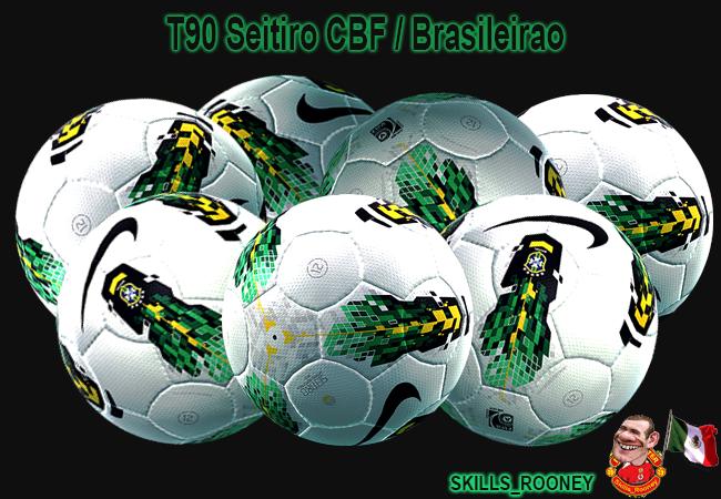 Bola T90 SEITIRO CBF Brasileirão - PES 2012