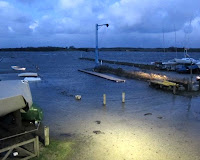 Fredag eftermiddag 6/12-13 - plus 171 cm vand